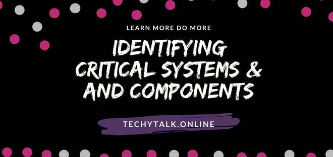 Identifying Critical Systems and Components