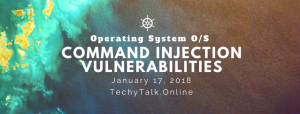 Operating System Command Injection Vulnerabilities