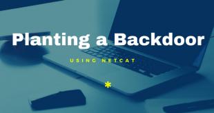 Planting a Backdoor