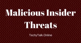 Malicious Insider Threats