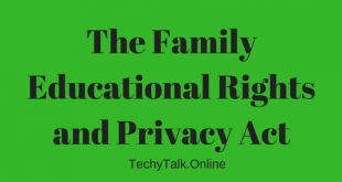 The Family Educational Rights and Privacy Act
