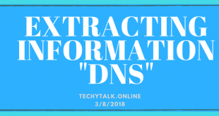 Extracting Information From DNS