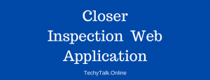 Closer Inspection of a Web Application