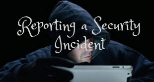 Reporting a Security Incident