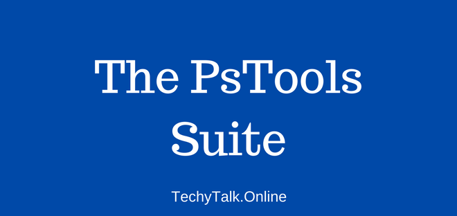 The PsTools Suite
