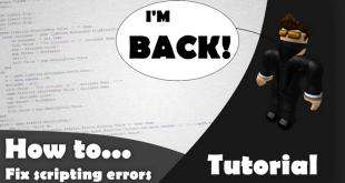 Scripting Errors