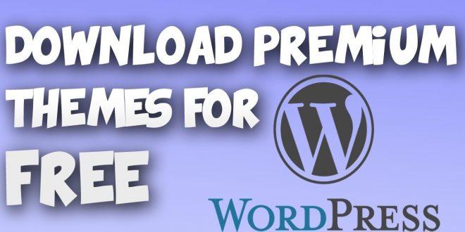 Get Premium Wordpress Theme and Plugin 2018 (Free)