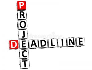 Have a Deadline