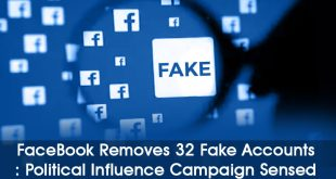 Facebook Removes Fake Accounts Linked to Russian Firm