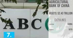 No#7: Agricultural Bank of China