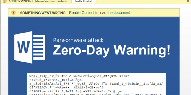 Microsoft Office Macros Still No. 1 Malware Delivery
