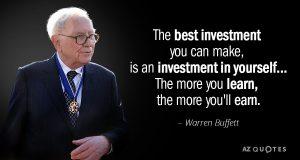 Warren Buffett Quote on Wealth
