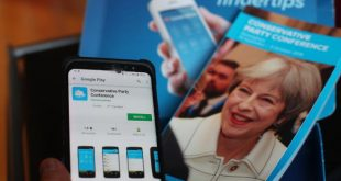 Tory App Snafu Exposes Ministers Personal Info