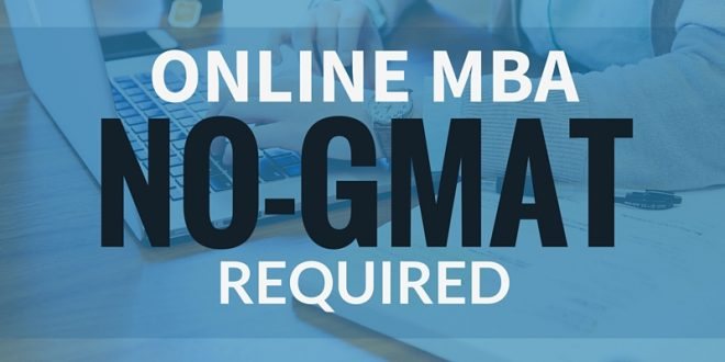 Best Online MBA no GMAT