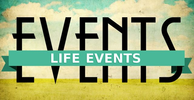 Life Changing Events (Financial Planning)