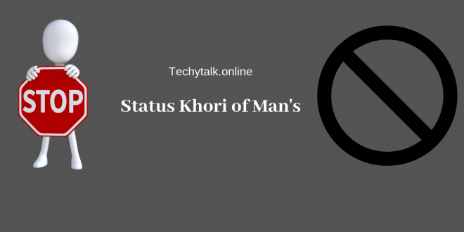Status Khori of Man's