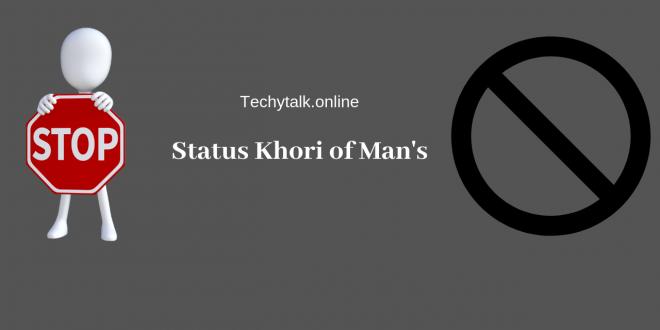 Status Khori of Man's