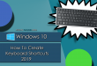 Windows 10 - How To Create Keyboard Shortcuts (2019)