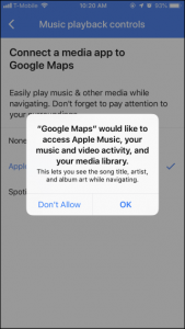 Apple Music And Spotify Google Map