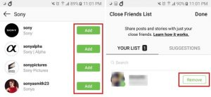 Creating An Instagram Close Friends List 2