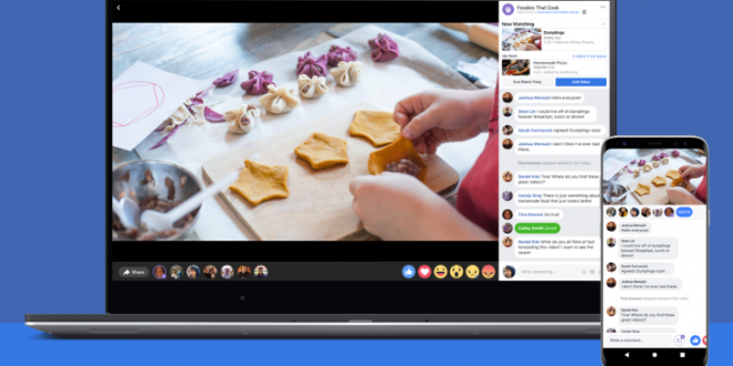 Facebook - How to host A Watch Party (2019)