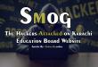 Hackers Attacked Karachi Education Website