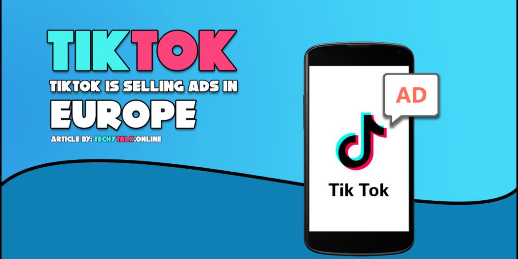 TikTok selling ads