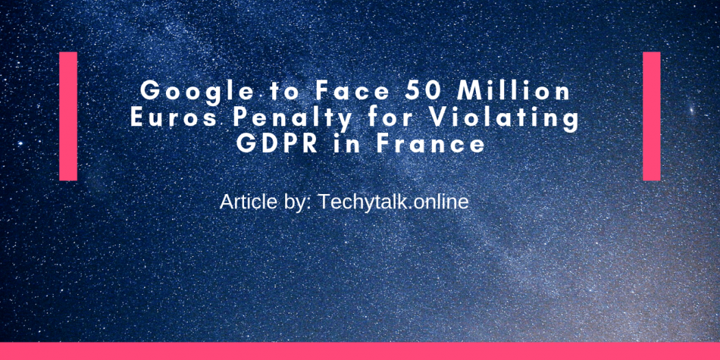 google violating gdpr in france