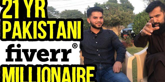 21 Years Old Pakistani Fiverr Millionaire