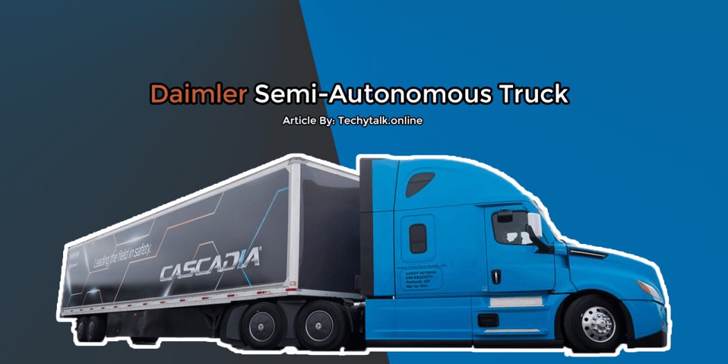 daimler semi autonomous truck