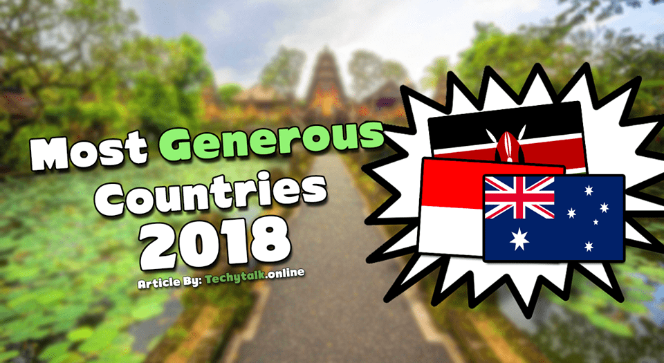 most generous countries 2018