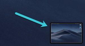 screenshot record mac screen native method floating thumbnail
