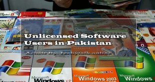 unlicensed software users in pakistan