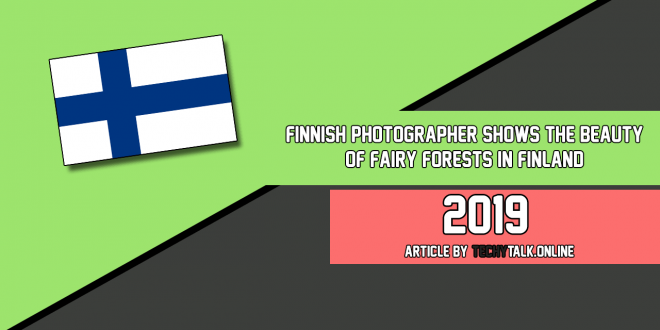 Finnish Photographer Shows The Beauty Of Fairy Forests In Finland