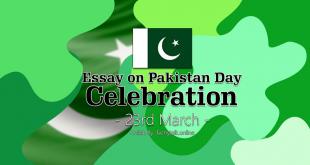 Essay on Pakistan Day Celebration 23rd March