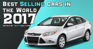 best selling cars in the world 2017