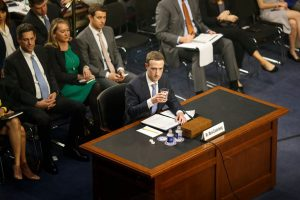 Facebook's chief executive, Mark Zuckerberg, testifying before Congress in April.CreditTom Brenner/The New York Times