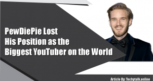 PewDiePie Lost His Position as the Biggest YouTuber on the World