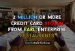 2 Million or More Credit Card Stolen From Earl Enterprise Restaurants