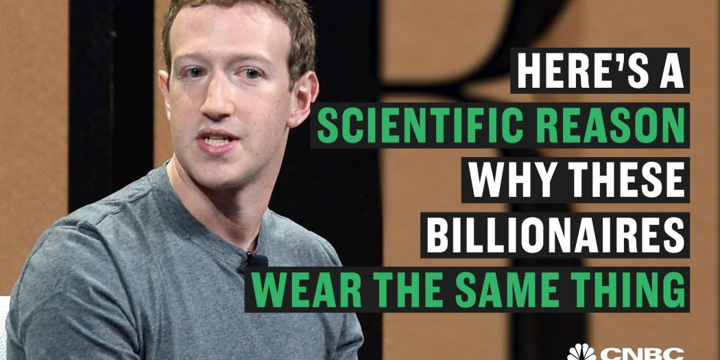 Why Successful People Like to Wear Same Thing Every Day?