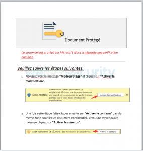 Malicious document