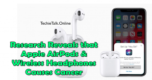 Research Reveals that Apple AirPods & Wireless Headphones Causes Cancer