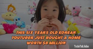 This Six Years Old Korean YouTuber Just Bought a Home Worth $8 Million