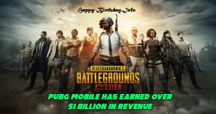 PUBG Mobile Has Earned Over $1 Billion in Revenue