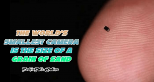 The world's smallest camera is the size of a grain of sand-min