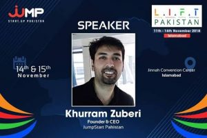 Khurram Zuberi (Co-Founder of Jumpstart & Lift Pakistan)