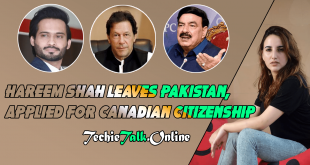 Hareem Shah Leaves Pakistan, Applied for Canadian Citizenship