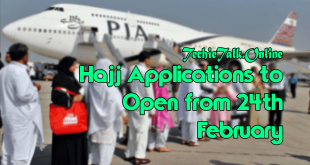Hajj Applications to Open from 24th February