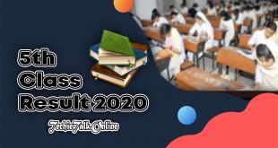 5th Class Result 2020 [StudyExamJob]