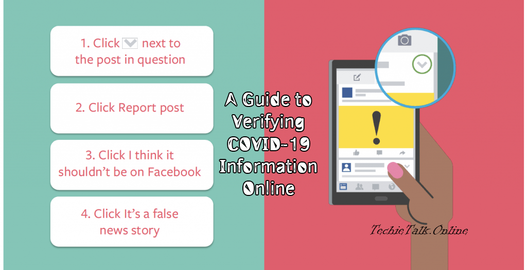 A Step-by-Step Guide to Verifying COVID-19 Information online